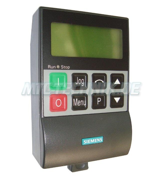 1 Siemens Opm-2 Bedienpanel 6se9996-0xa61