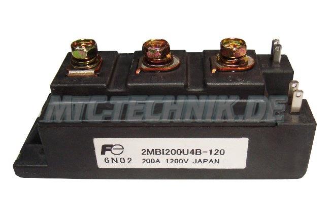 Fuji Electric Power Module 2mbi200u4b-120 Shop
