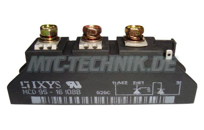 Ixys Thyristor Module Mcd95-16io8b