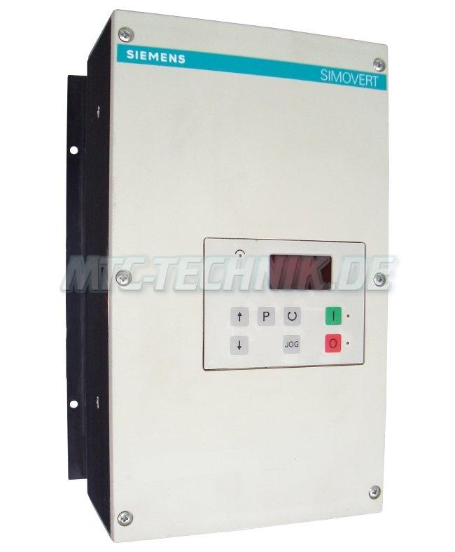 1 Siemens 6se2103-1aa02 Simovert-p Frequenzumrichter
