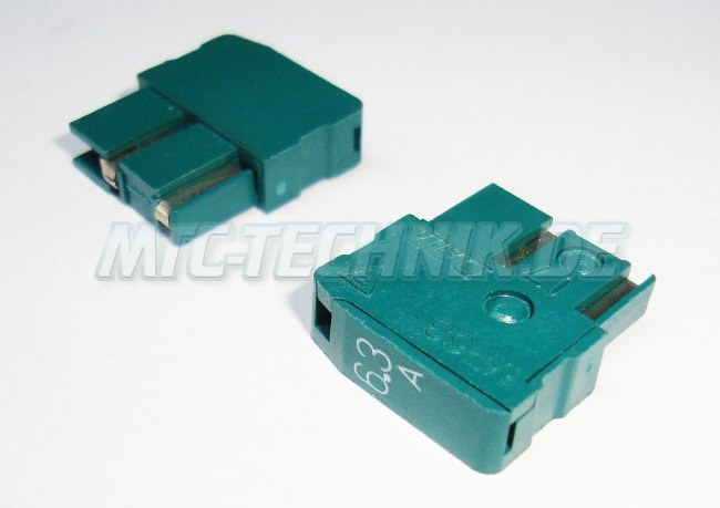 Green Fuse Daito Mp63 Current 6.3a