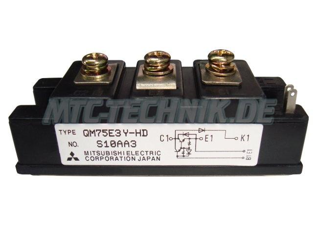 Mitsubishi Transistor Module Qm75e3y-hd