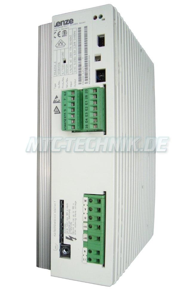1 Exchange Lenze Ac-drive 33.8204 E Online-shop