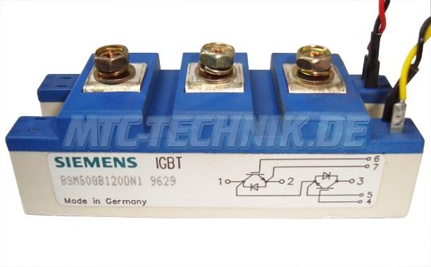 Siemens Igbt Modul Bsm50gb120dn1 Used Part