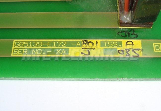 Typenschild G85139-e172-a801