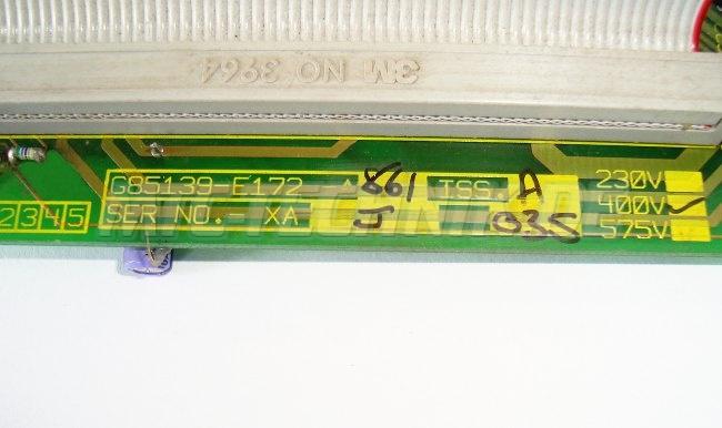Typenschild G85139-e172-a861 Siemens