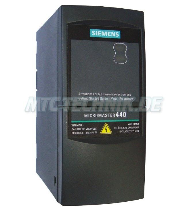 1 Siemens Micromaster 440 6se6440-2ud17-5aa1 Shop