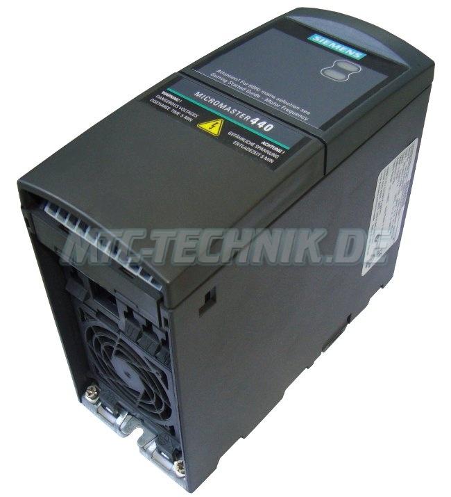 3 Exchange Ac-drive Micromaster 6se6440-2ud17-5aa1