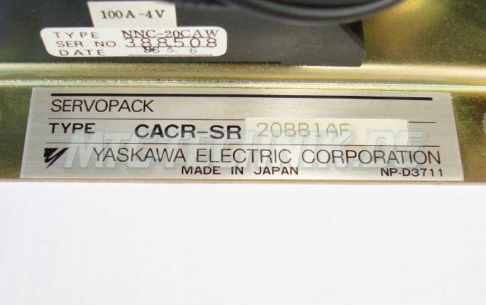 4 Typenschild Cacr-sr20bb1bf Yaskawa