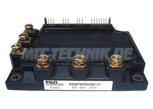 Fuji Electric Igbt Module 6MBP50RA060-01
