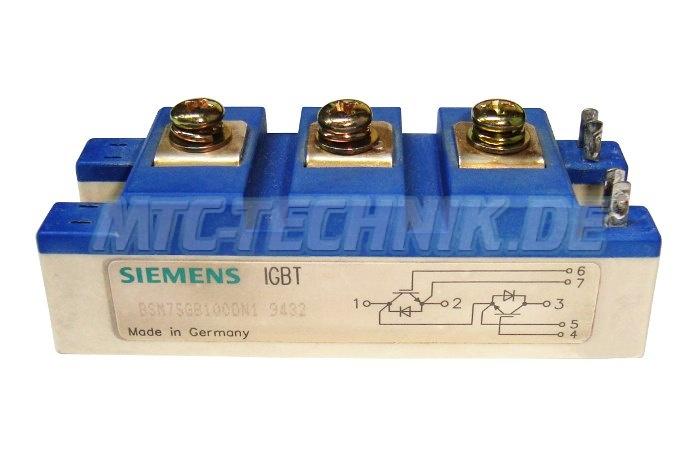 Siemens Igbt Module Bsm75gb100dn1 Shop