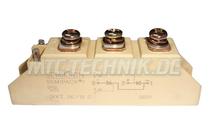 Kaufen Semikron Thyristor Module Skkt26-12d Shop