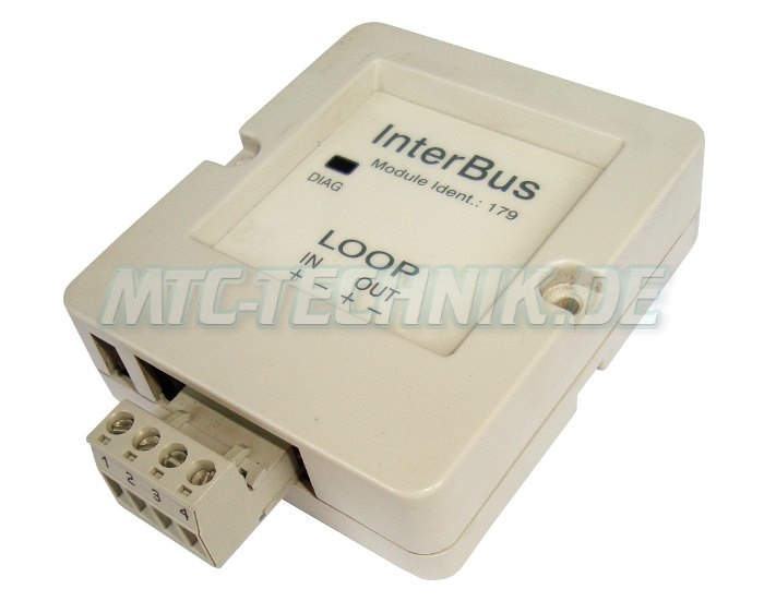 Keb Loop 00.f4.010-8009 Interbus Modul