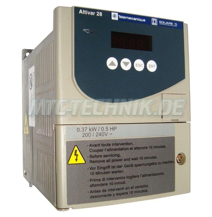 1 Telemecanique Atv28hu09m2 Shop Frequenzumrichter