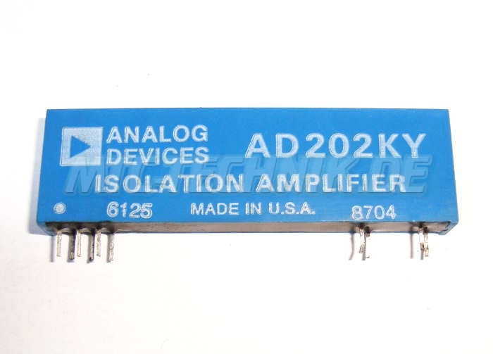 1 Isolations Amplifier Ad202ky Shop