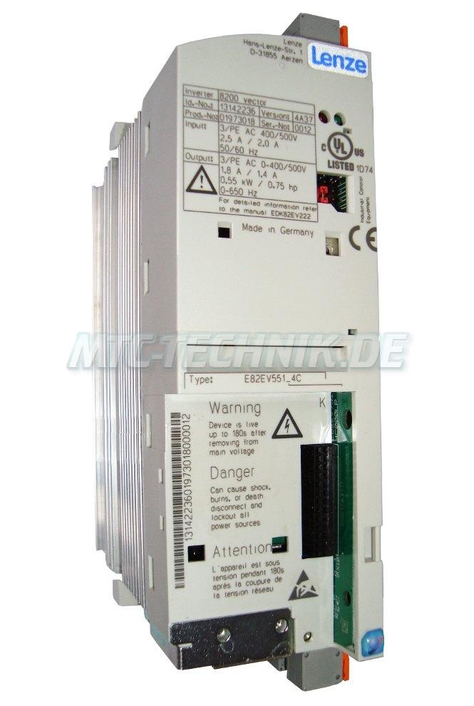 1 Lenze Frequenzumrichter E82ev551 4c Shop