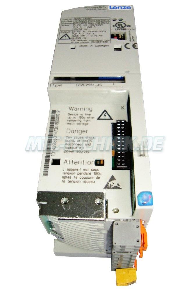 2 Bestellen Lenze E82ev551 4c Ac-drive