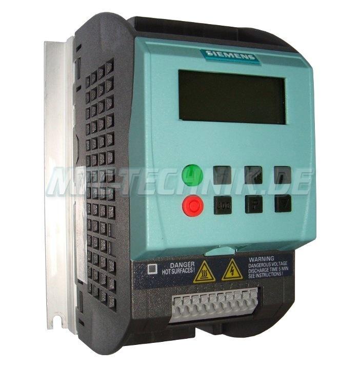 1 Siemens 6sl3211-0ab12-5ba1 Sinamics-g110 Shop
