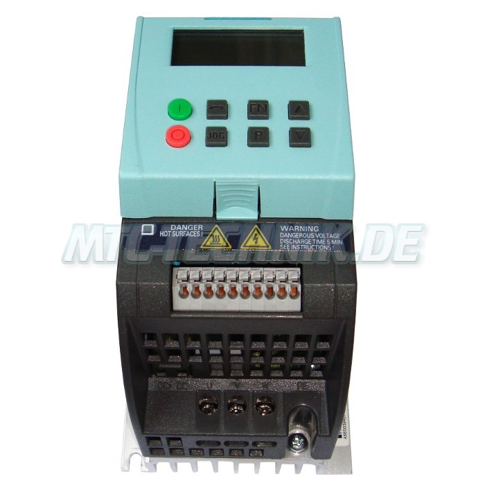 2 Frequenzumrichter Mit Garantie 6sl3211-0ab12-5ba1 Siemens