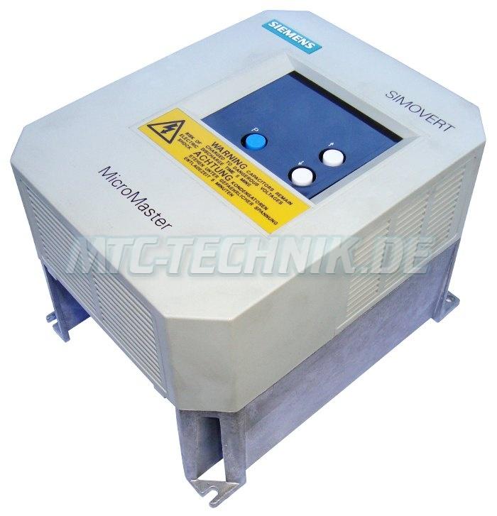 3 Micromaster Shop 6se3012-6ba00 Frequenzumrichter Austausch