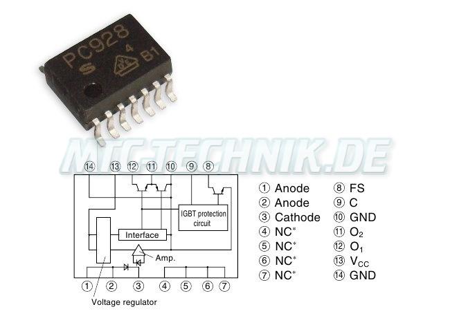 Sharp Optocoupler Pc928