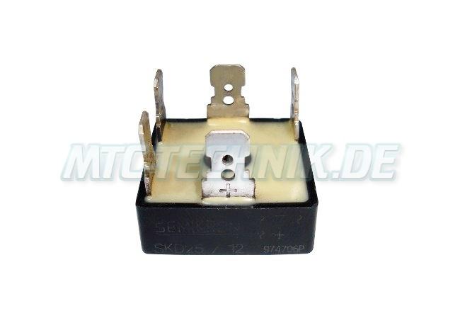 Semikron Dioden-modul Skd25-12