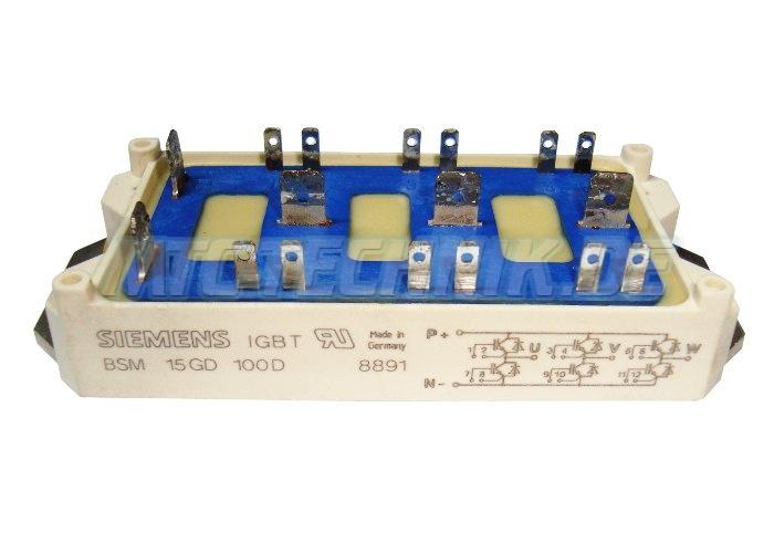 Siemens Igbt-modul Bsm15gd100d Shop