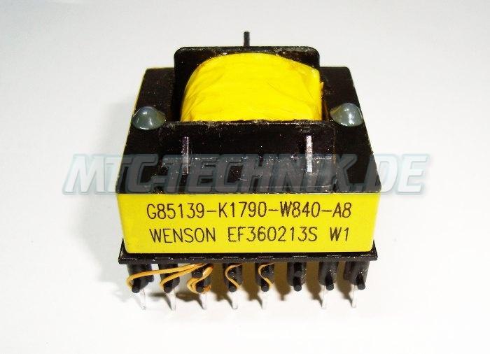 Micromaster Trafo G85139-k1790-w840-a8 Siemens