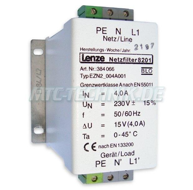 1 Lenze Netzfilter Ezn2-004a001