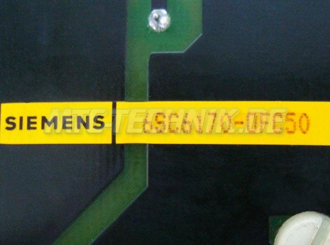 4 Siemens Bestellnummer 6sc6170-0fc50