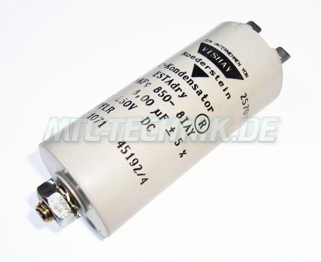 Vishay Kondensator Gmkpg850-8iay Shop