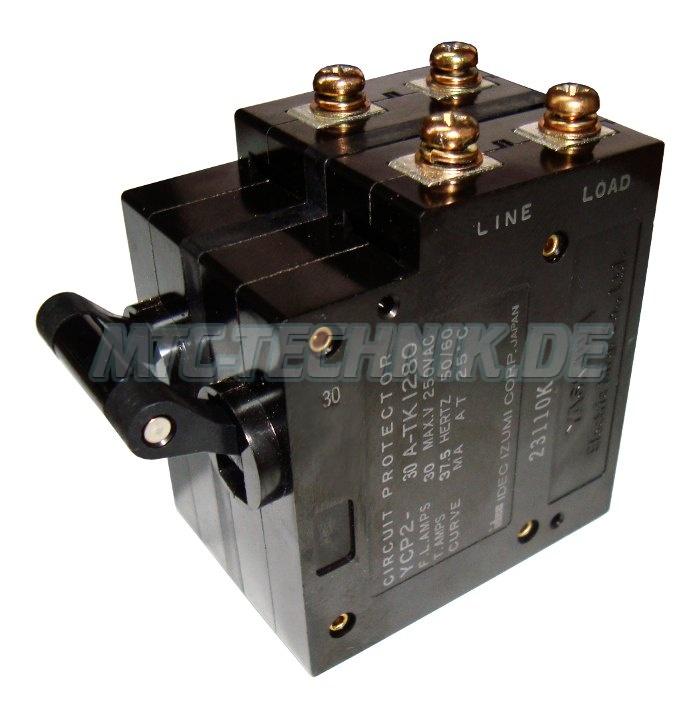 1 Yaskawa Ycp2-30a-tk1280 Circuit Protector
