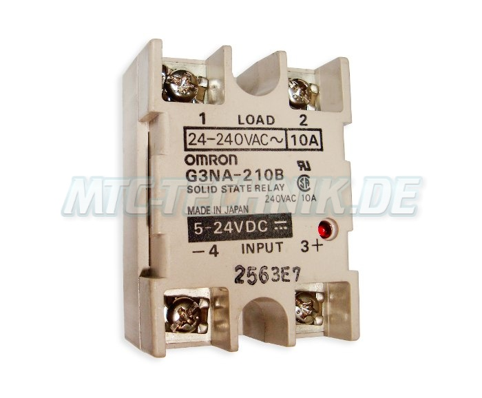 1 Omron Solid State Relay G3na-210b Shop
