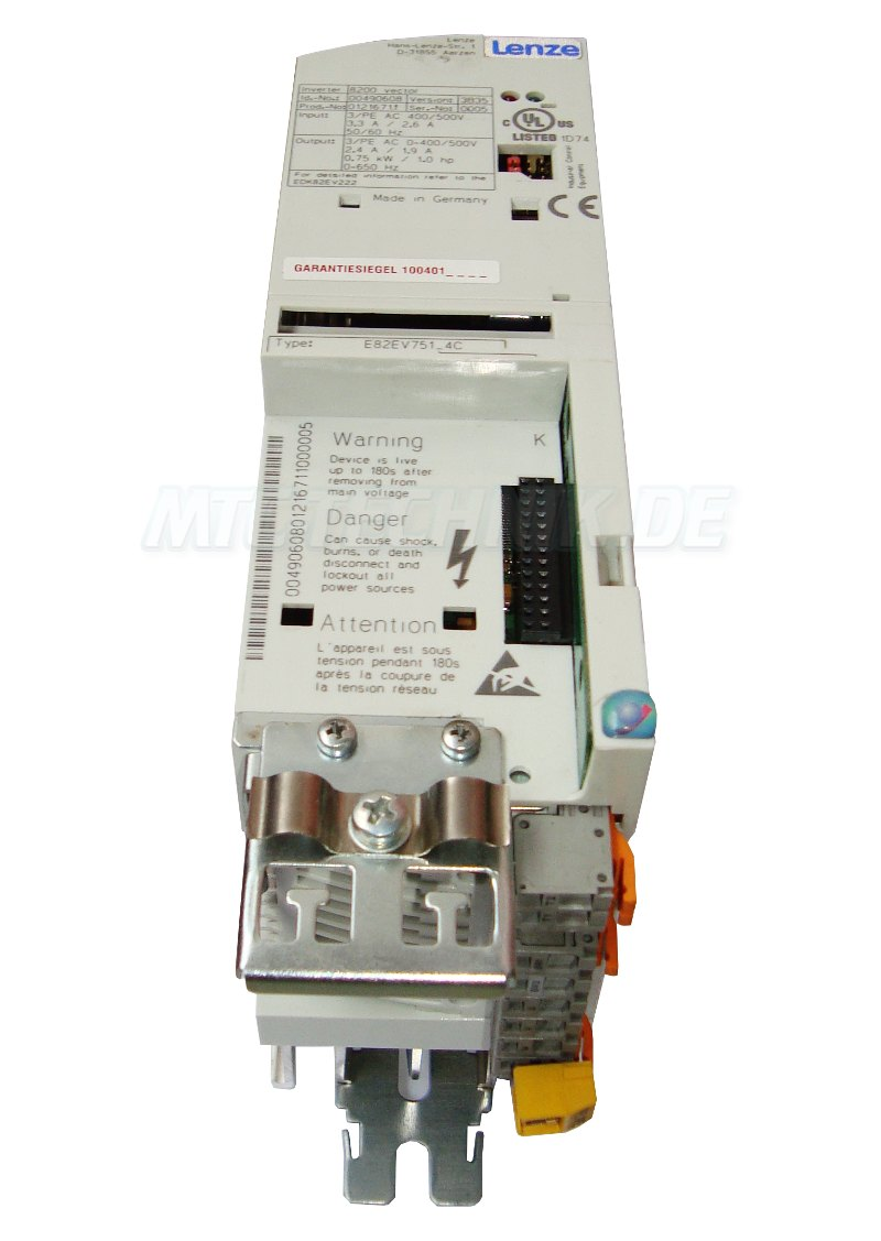 2 Vector 8200 Lenze E82ev751 4c Shop