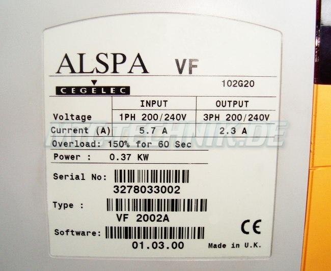 4 Typenschild Vf2002a Alspa