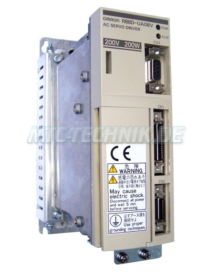 1 Omron Ac-servo-drive R88d-ua08v Shop