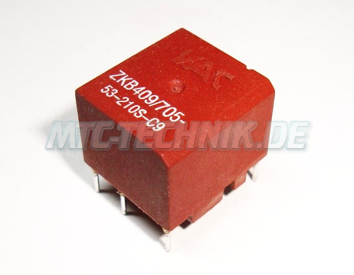 Siemens Vac Zkb409-705-53-210s-c9 Transformator