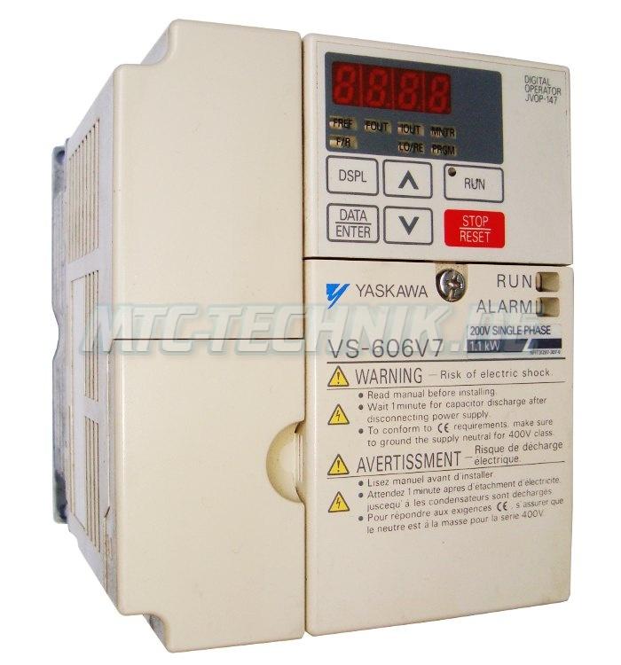 1 Yaskawa Frequenzumrichter Cimr-v7ccb0p7 Austausch