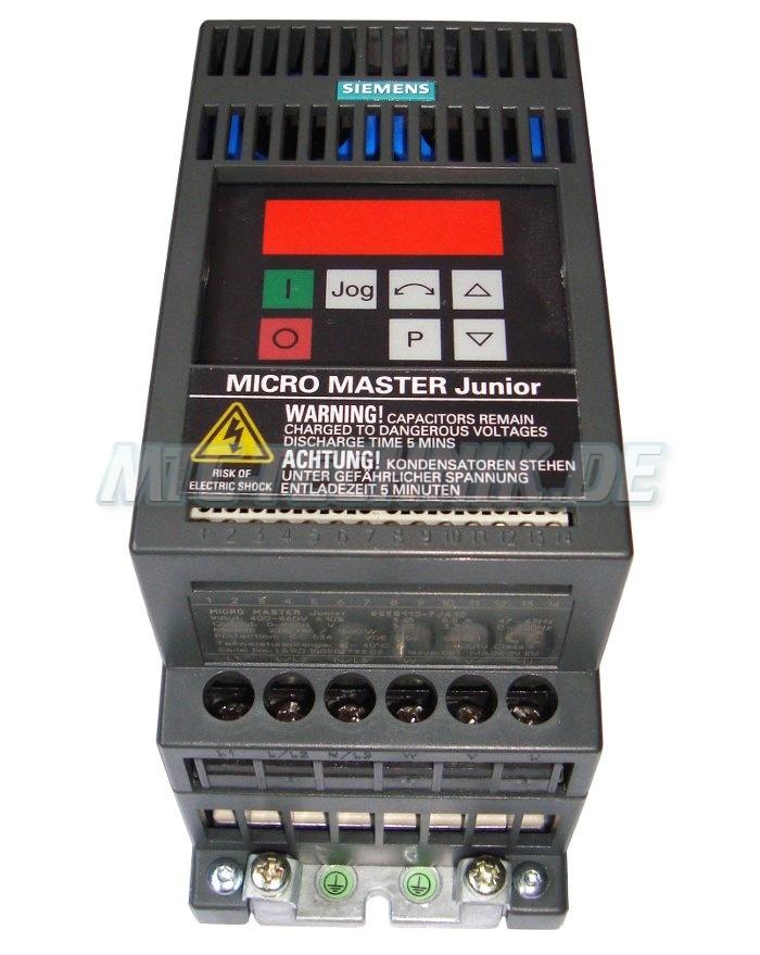 2 Frequenzumrichter Shop 6se9113-7ja13 Siemens