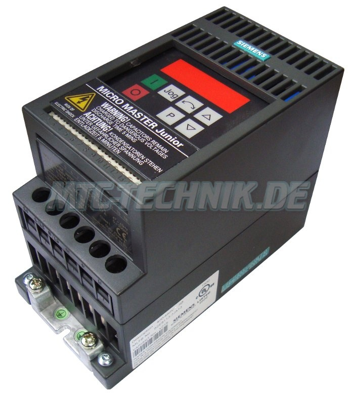 3 Exchange Siemens 6se9113-7ja13 Micromaster Frequency Drive