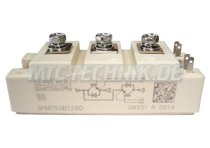 Semikron Skm75gb128d Igbt Modul