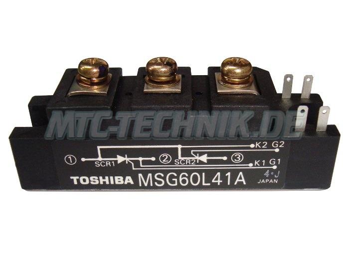 Toshiba Thyristor Module Msg60l41a Shop