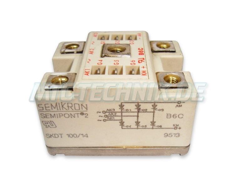 Semikron Thyristor Modul Skdt100-14 Shop