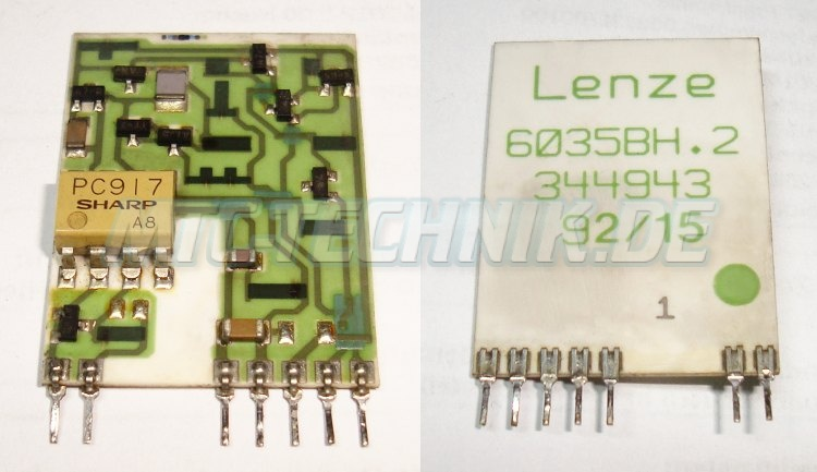 Lenze Shop 6035bh.2 Hybrid Ic