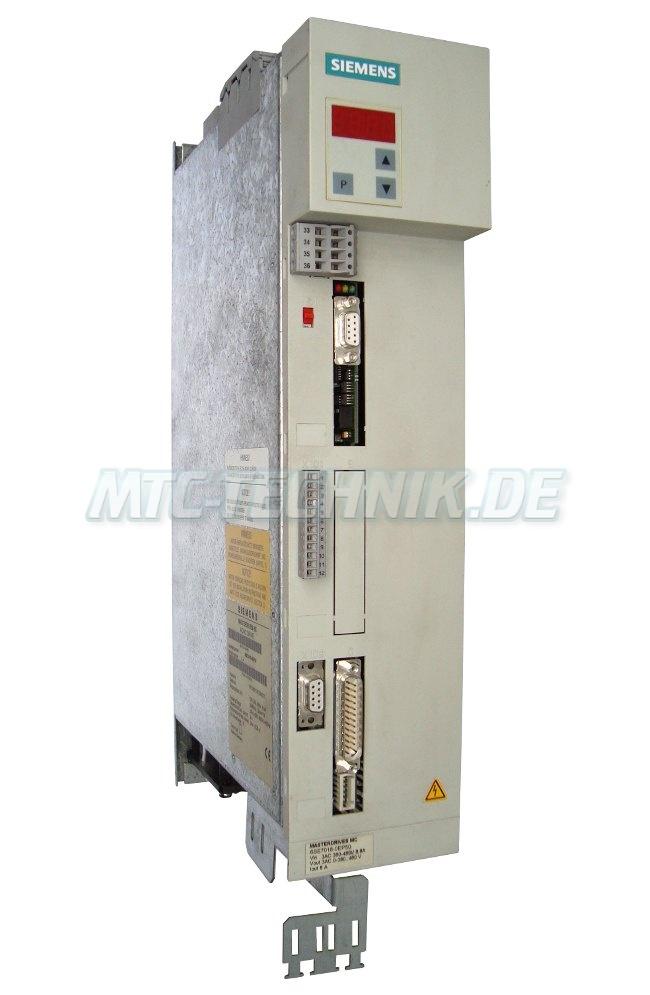 1 Siemens Online-shop 6se7018-0ep50 Masterdrives