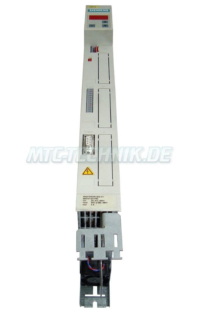 2 Austausch Siemens 6se7012-0tp50 Frequenzumrichter