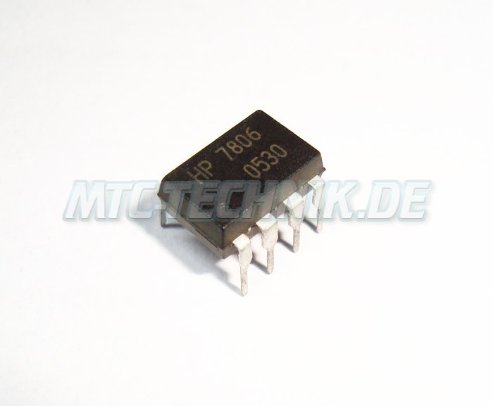 1 Hewlett Packard Hcpl-7806 Isolations Amplifier Shop