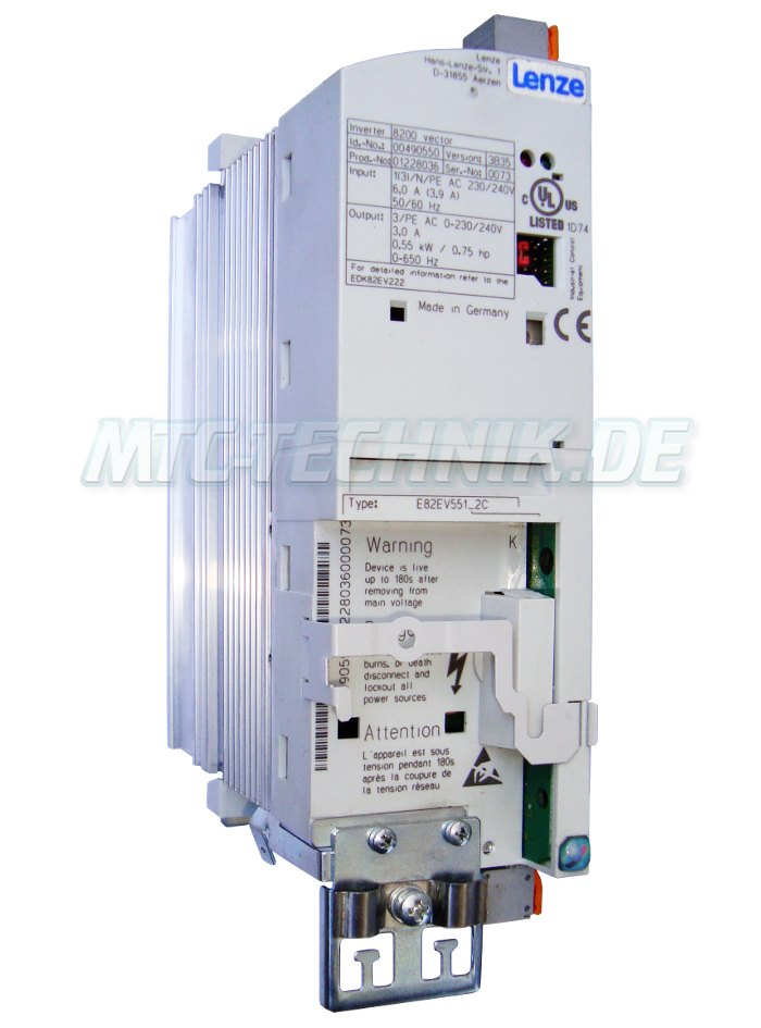 1 Lenze Shop E82ev551 2c Frequenzumrichter