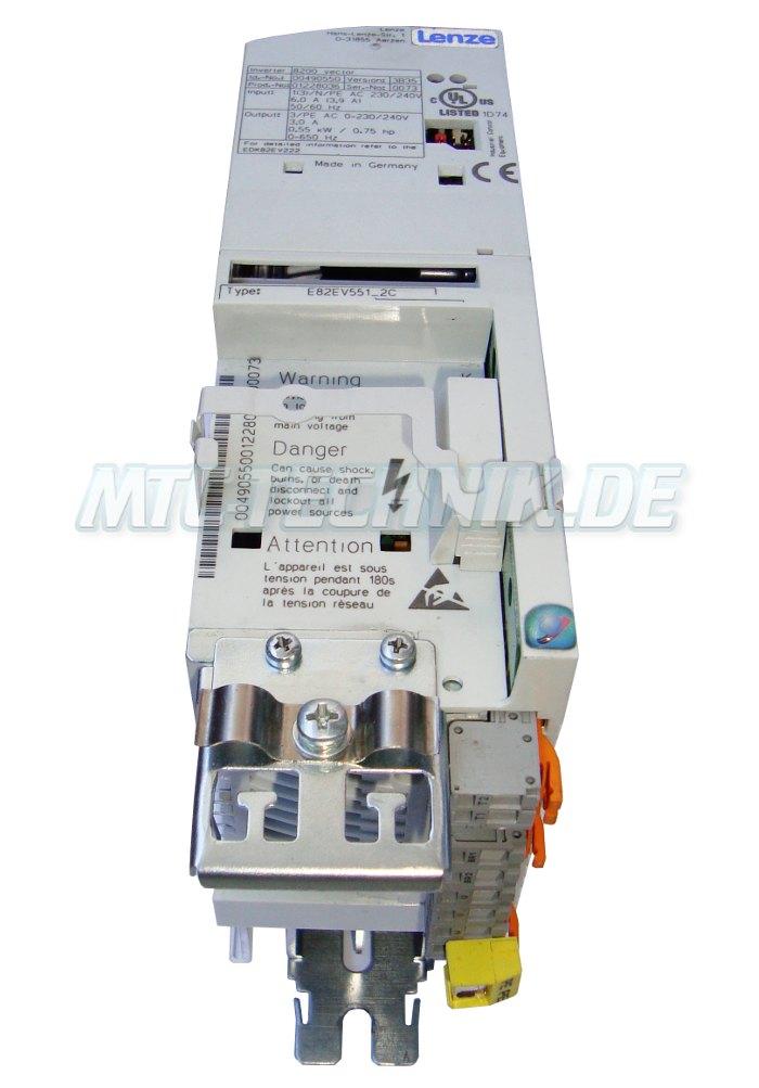 2 Austausch Lenze E82ev551 2c Inverter