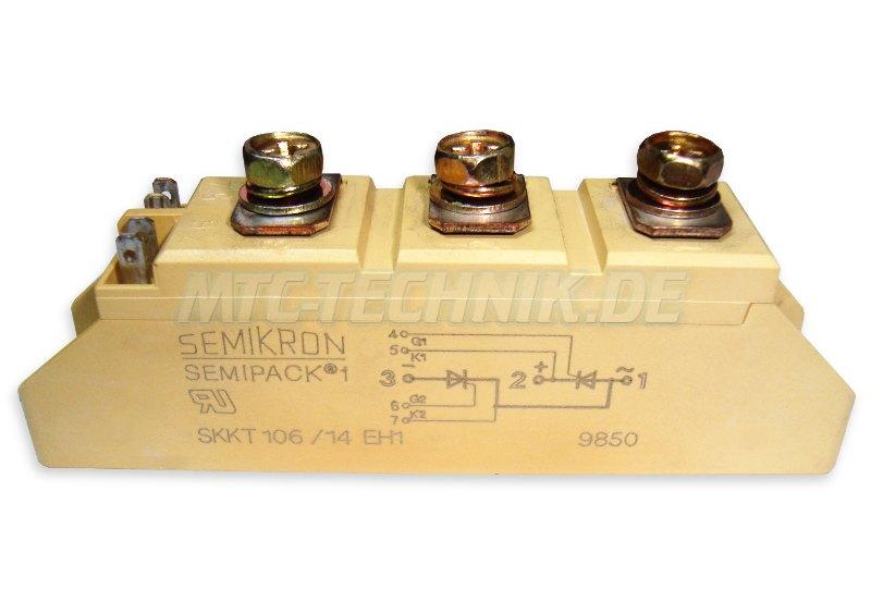 Semikron Skkt106-14e Thyristor Modul